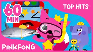 The Best Songs of Jul & Aug 2016 | Baby Shark and More | + Compilation | PINKFONG Songs for Children