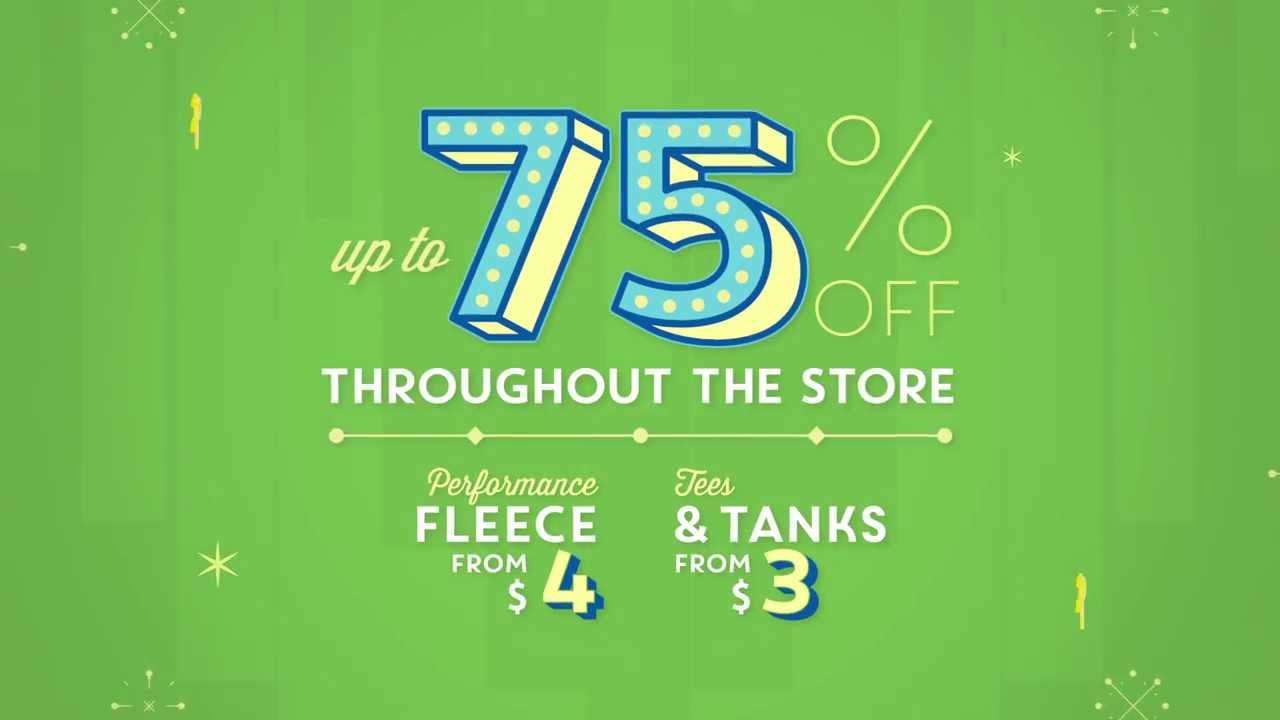 Old Navy: After Holiday Sale Happening Now - YouTube