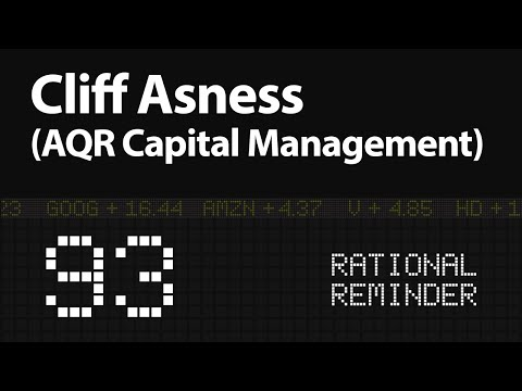 Cliff Asness From AQR: The Impact Of Stories, Behaviour And Risk (EP.93)