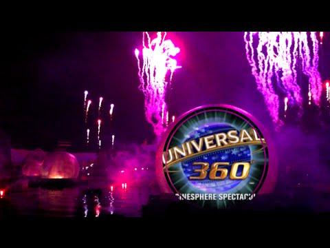 The Universal Orlando 360 Globe Cinesphere Spectacular NYE [2011]