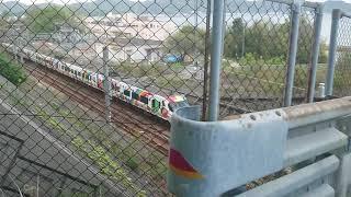 JR四国 8000系 特急しおかぜ アンパンマン列車