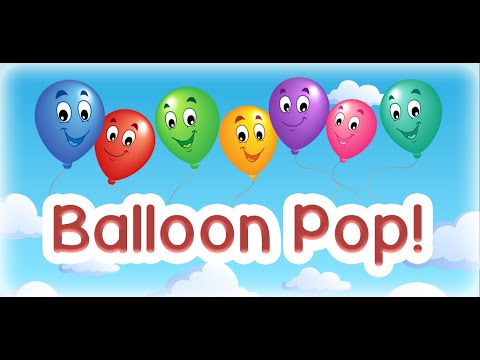 Kids balloon pop game free apps on google play for Free balloon games