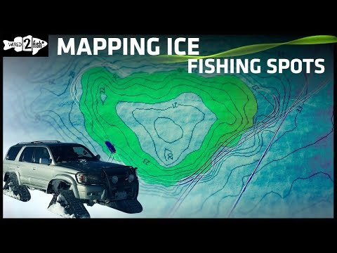 How To Map Ice Fishing Spots Using Fish Finders