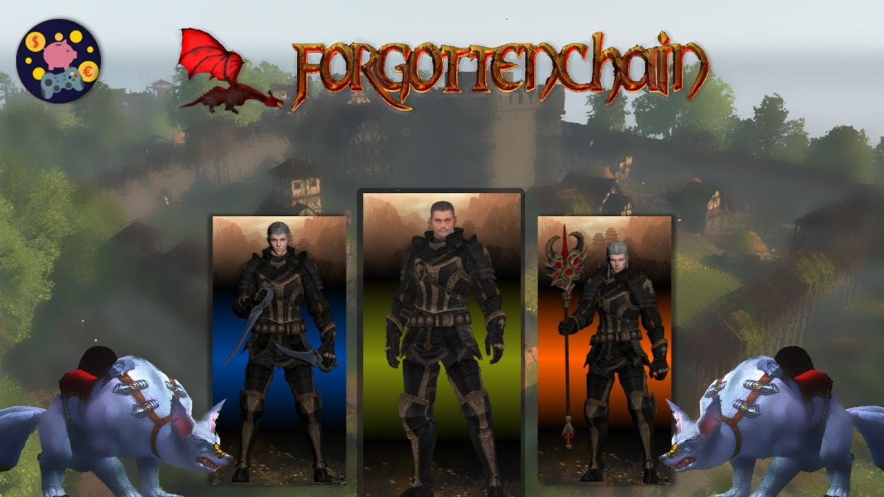 Download Forgotten Chain, be an earlier investor on the newest MMORPG on BSC