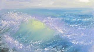 пишем освещенную волну , ошибки при написании морских волн