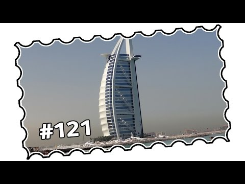 #121 - UAE, Dubai area - Jumeirah Road, Burj al Arab, Madinat to Marina (04/2014)