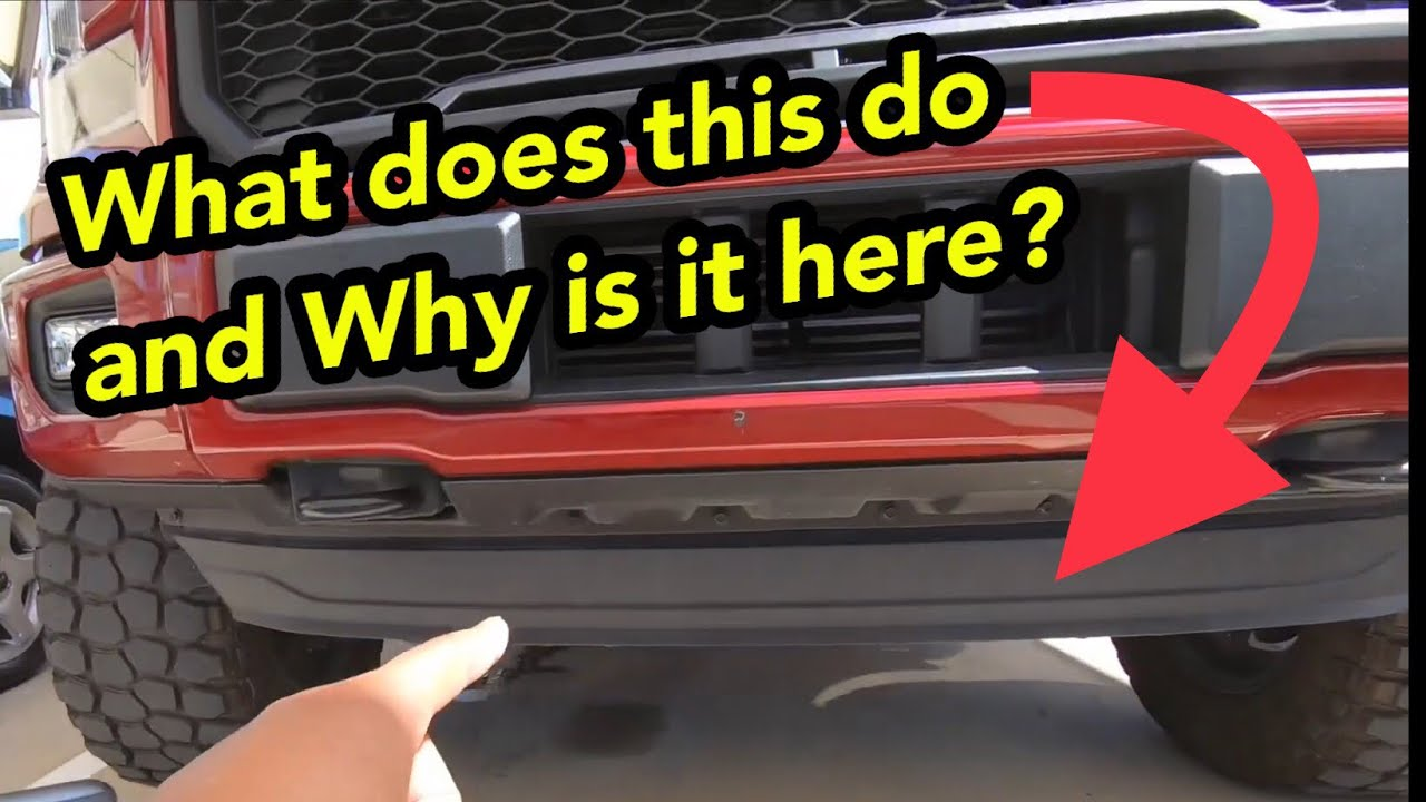 I Should Have Removed This A Long Time Ago 2015 F150 Air Dam Removal Youtube