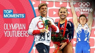 Olympian YouTubers? | Top Moments