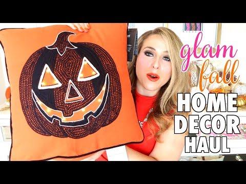 GLAM FALL DAY 2 | Fall Home Decor Haul!
