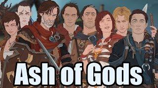 видео Ash of Gods обзор