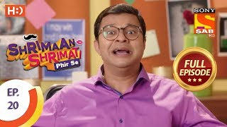 Shrimaan Shrimati Phir Se - Ep 20 - Full Episode - 9th April, 2018
