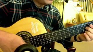 Triste Coeur 痛苦的心(午后的出发) - Richard Clayderman (Guitar solo)