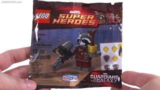 LEGO Marvel Super Heroes Rocket Raccoon Polybag Review! 5002145