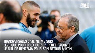 Real Madrid : Quand Perez se levait pour fêter un but de Benzema de retour à Lyon (Transversales)