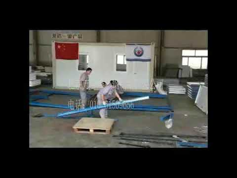 prefab k modular house installation video-Beijing Wanjinlong Color Coated Steel Products Co.,LTD