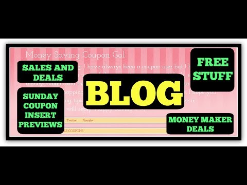 CHECK OUT MY BLOG TO GET FREE MONEY, COUPON PREVIEWS, FREE STUFF AND SO MUCH MORE!!!