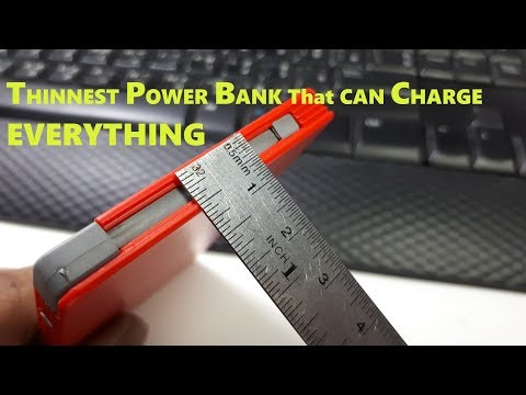BEST TOP SLIM POWER BANK CHARGE IPhone Android