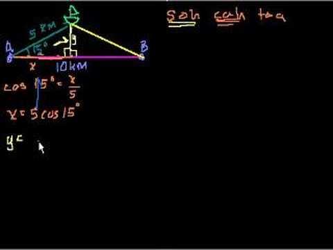 Trigonometry Word Problems Part 1 Youtube