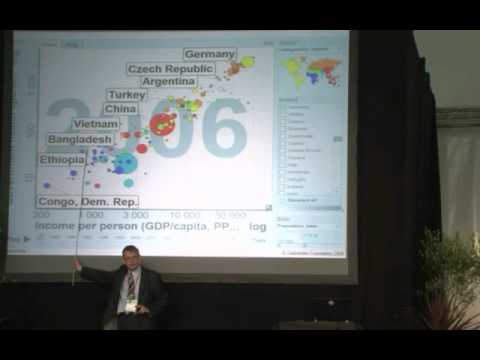 """Disease causes poverty"" - Hans Rosling on global health and medical costs"