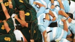 2014 Argentina v South Africa [ALL SCRUMS]