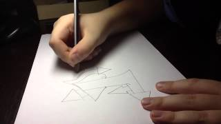 Видео урок граффити (стрелки)