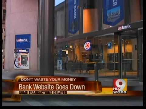 Portion Of US Bank Website Shut Down