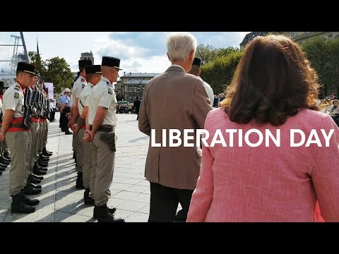Liberation Day Festivities In Paris - Hotel De Ville