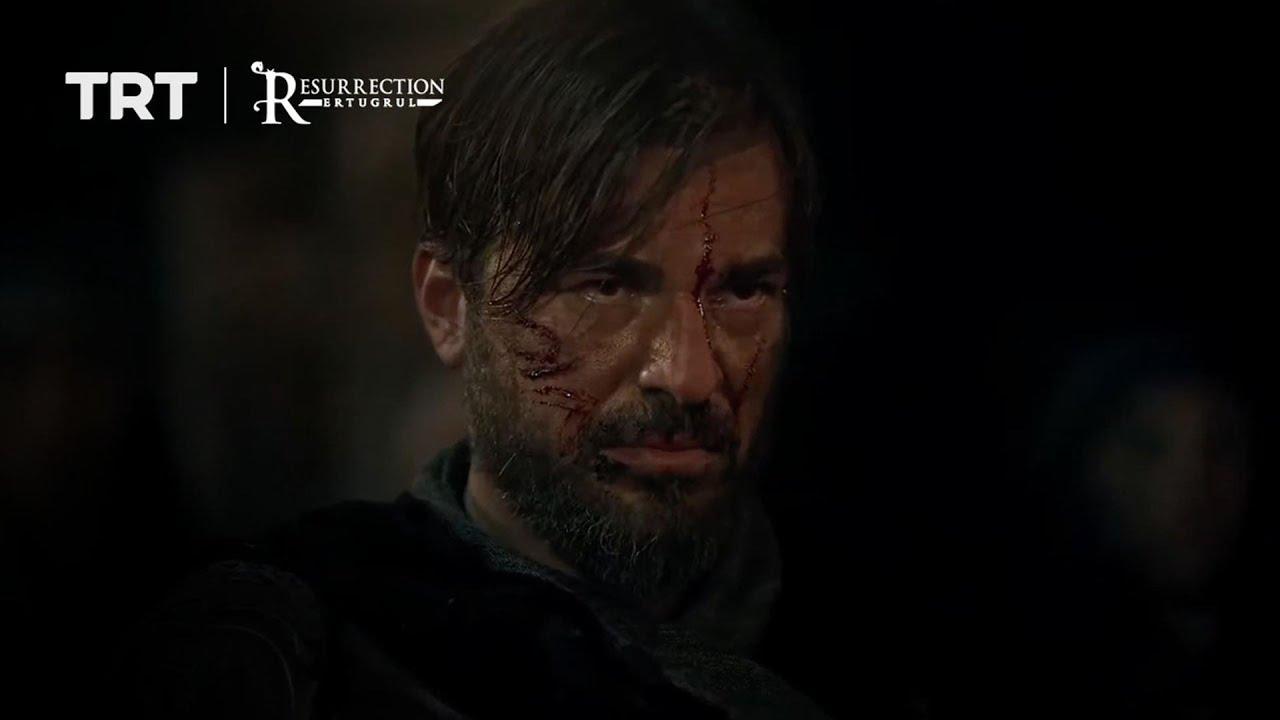 Ertugrul fights one of Noyan's soldier