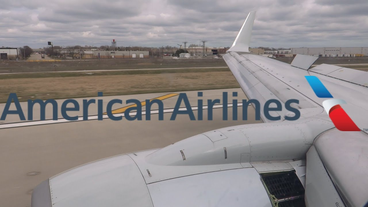 HD American Airlines Boeing 737-823 N967AN Landing at Chicago O'Hare  International Airport
