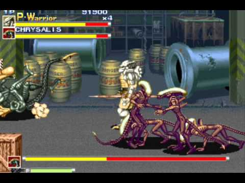 Alien vs. Predator (Arcade) - Walkthrough (1/4)