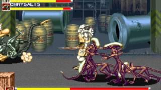Alien vs. Predator (Arcade) - Walkthrough (1/4)