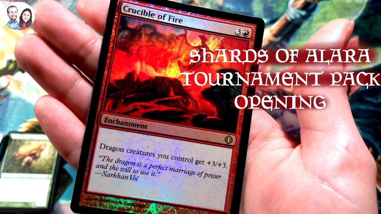 Excellent+ Crucible of Fire ~ Shards of Alara Magic MTG