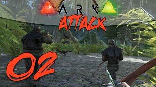 ARK Attack! (ARK Survival Evolved PvP) - Episode 2 - Pressing On