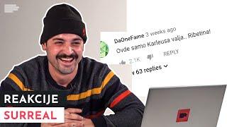 Surreal reaguje na komentare na pesmu Marihuana | MONDO REAKCIJE | S01E07