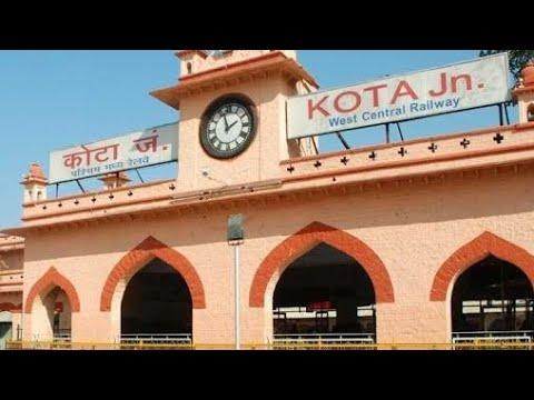 22983 Kota - Indore Superfast Express Arriving INDORE