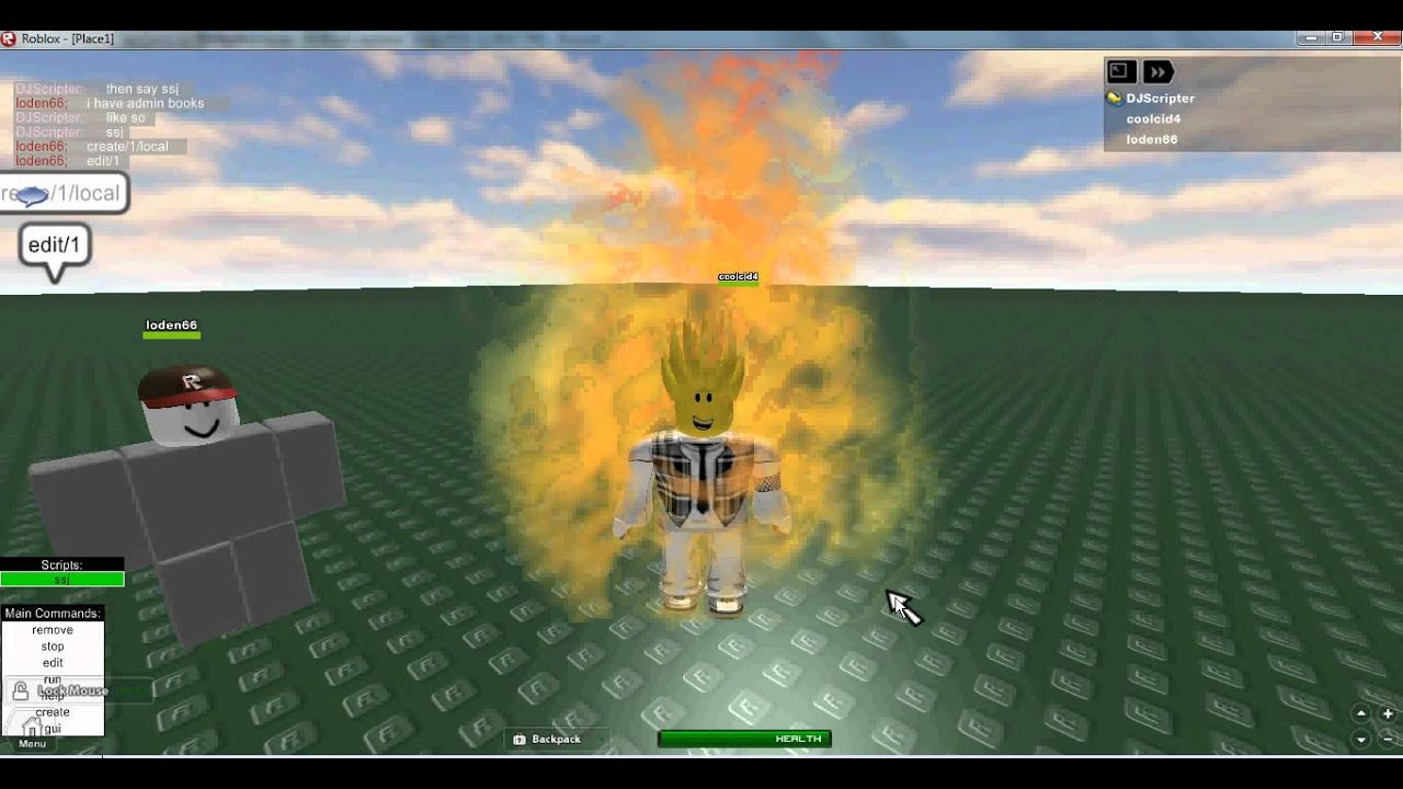 how to add a hotkey to a script roblox