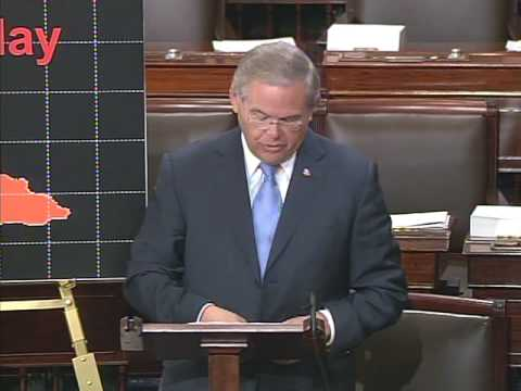 Menendez speech on the Realities in Cuba