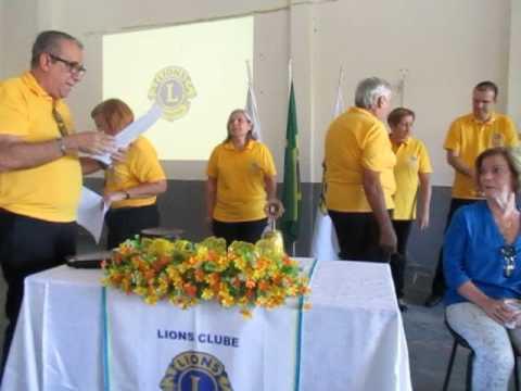 Posse do presidente  João Roberto no Lions Clube ILha do Governador, RJ, 2017