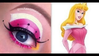Princess Aurora, Sleeping Beauty Makeup Tutorial