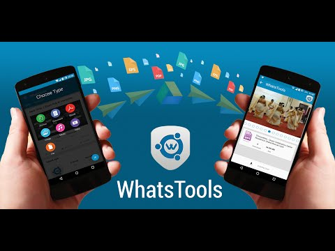 How to share Up to 1 GB file through Whatsapp? [WhatsTools]