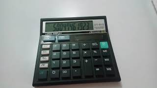 Simple calculator to compute any power of a number