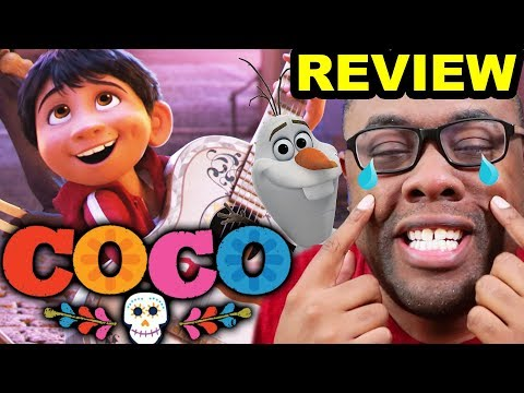 COCO Movie Review... and Olaf's Frozen Adventure | Andre Black Nerd