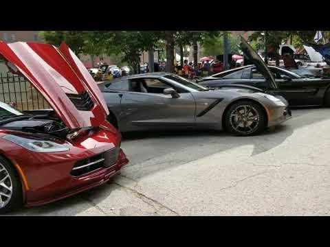 Midwest Corvette Auto Show C1, C2, C3, C4, C5, C6, C7 C8 Z51 Z06 ZR1