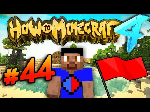 CAPTURE THE FLAG EVENT!  - HOW TO MINECRAFT S4 #44