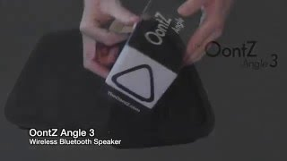 Oontz Angle 3 speaker review and impression from amazon
