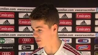 "Van Ginkel: ""Il Milan é un top club"" | AC Milan Official"