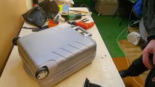 Ремонт чемодана!!! Горелка DREMEL и немного философии.