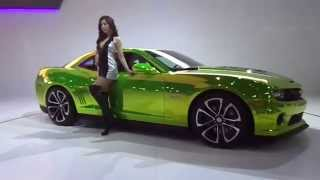 Seoul Motor Show 2013, Chevrole (Chevrolet) Camaro, 2013 Camaro coupe, 2013 Camaro Convertible