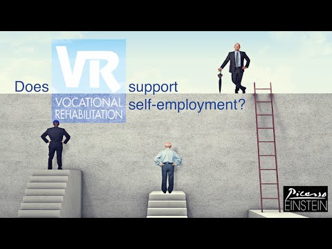 VR SUPPORTS SELF-EMPLOYMENT!