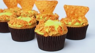 MOUNTAIN DEW DORITOS CUPCAKES - NERDY NUMMIES